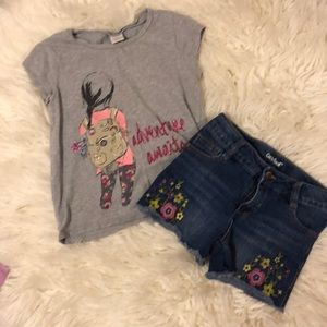 Gymboree Shirts & Tops - Gymboree & Cat and Jack Outfit